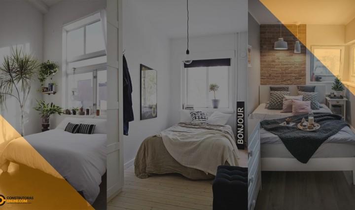 Como fazer decoração de quarto de casal pequeno