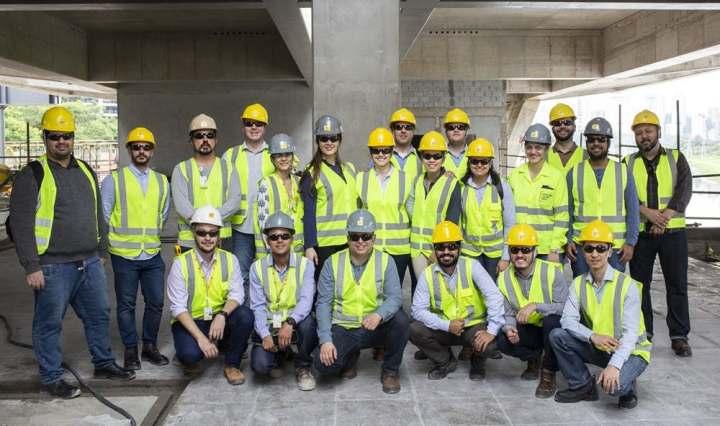 Trabalhadores da Camargo Corrêa Infra/Imagem: Divulgação