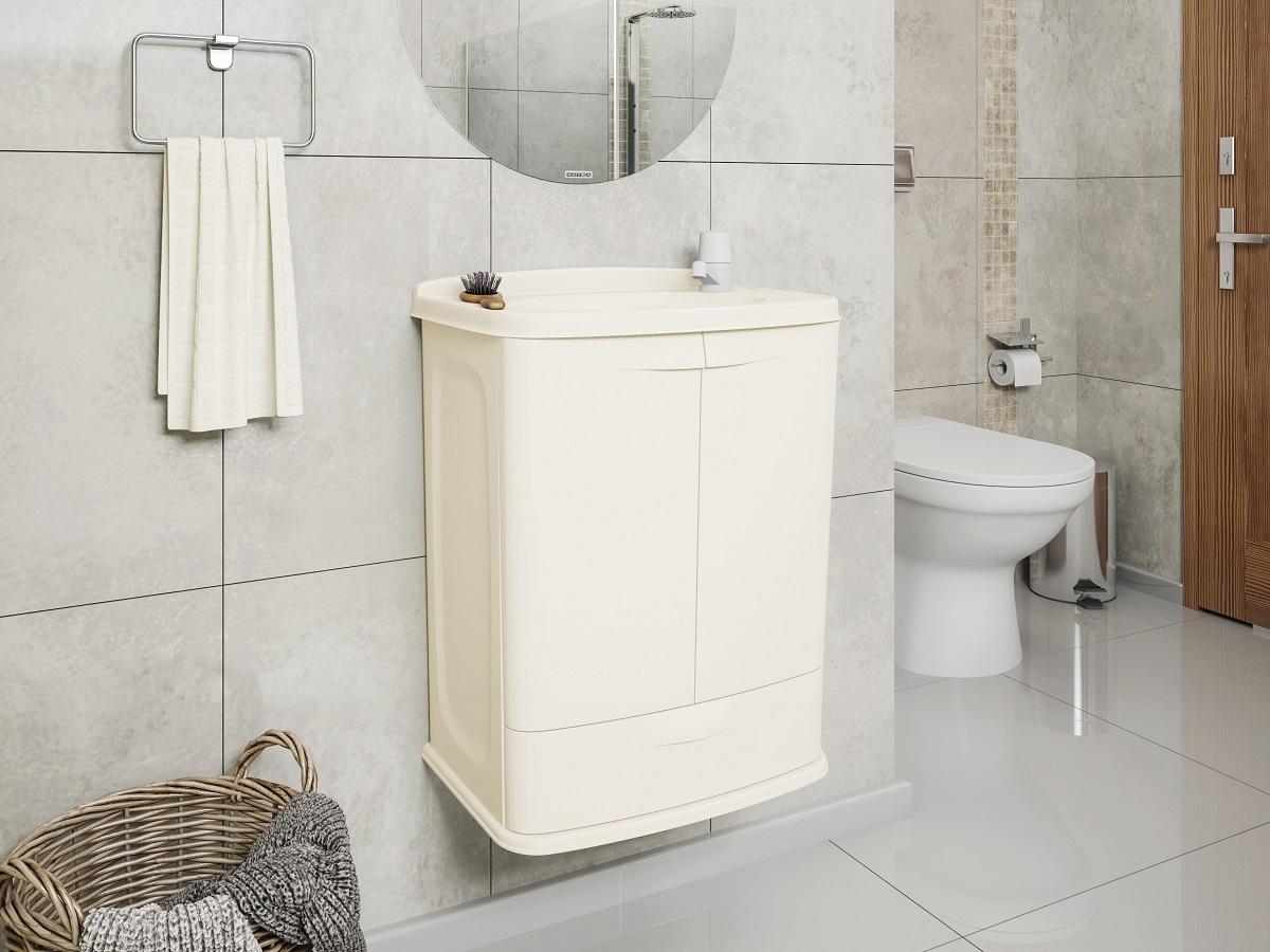 Banheiro - Armário e espelho - Modelo 02