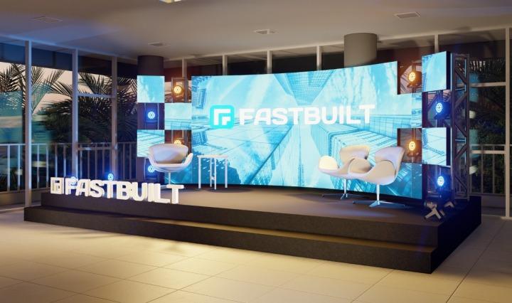 Palco do FastBuilt Experience 2020