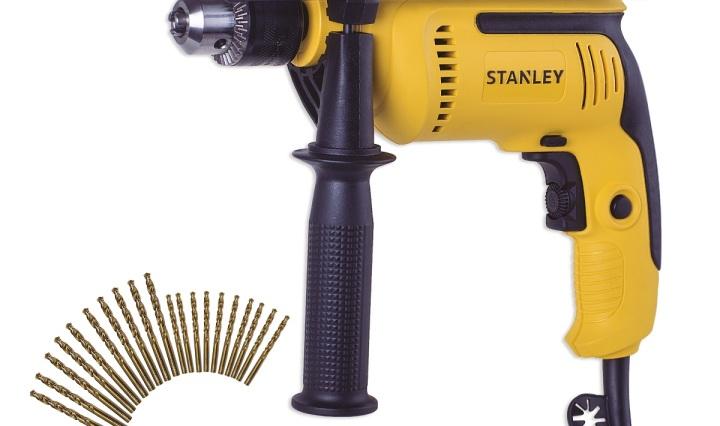 """STANLEY Furadeira de Impacto ½"""" (13mm) com 20 brocas para metal modelo SDH700G20"""
