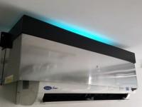 solução para esterilizar o ar por meio de aparelhos de ar condicionado