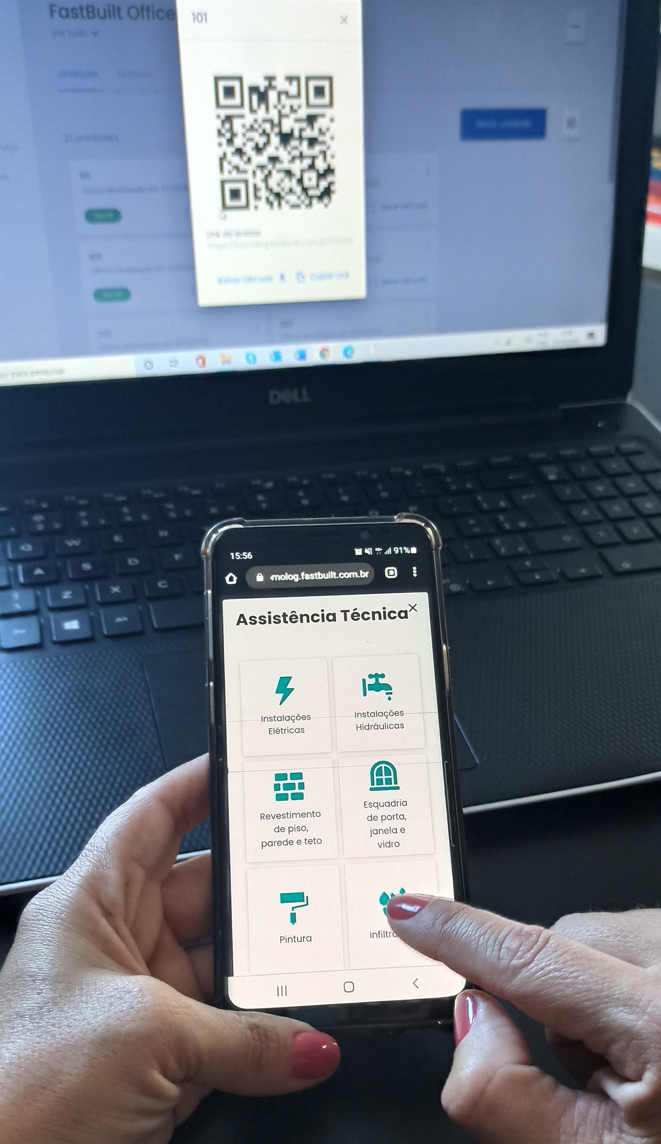 FastBuilt lança app para aproximar construtoras e clientes, com assistência técnica integrada
