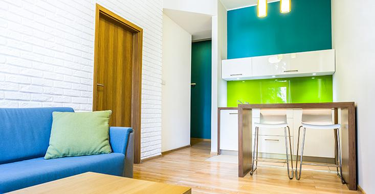 4- A decoração de apartamentos precisa ser planejada para garantir mais espaço no ambiente. Fonte: Intacta Engenharia