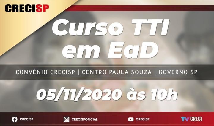 Parceria CRECISP e Centro Paula Souza lança curso para formação de Corretores de Imóveis na versão EaD